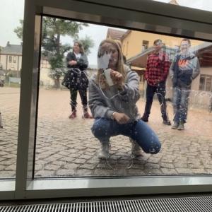 Vogelschutz am Schulfenster - B3