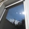 Vogelschutz - gemalte Streifen auf Fenster. 3 / Außenansicht