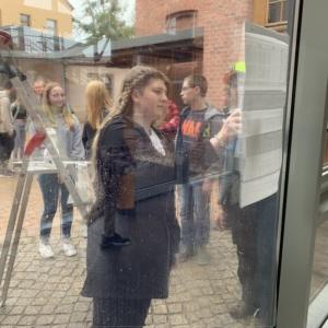 Vogelschutz am Schulfenster - B6