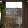 Fenstermalstift mit UVA Tinte am Fenster - Blick nach draussen_04