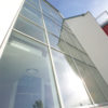 Vogelschutz- Glasfassade D