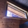Schrägfenster mit Tape400 Streifen im 50mm Abstand_Inneansicht