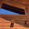 Schrägfenster mit Tape400 Streifen im 24mm Abstand_Aussenansicht