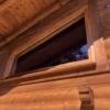 Schrägfenster mit Tape400 Streifen im 50mm Abstand_Aussenansicht