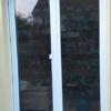 Vogelschutzstreifen 75mm breit auf Glas, Aussenansicht, semaSORB PROBIRD DK500 Tape