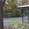 Vogelschutz- Wartehalle an der B107