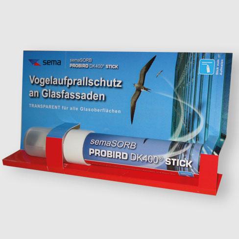 Vogelschutz Fenstermalstift mit UVA Tinte